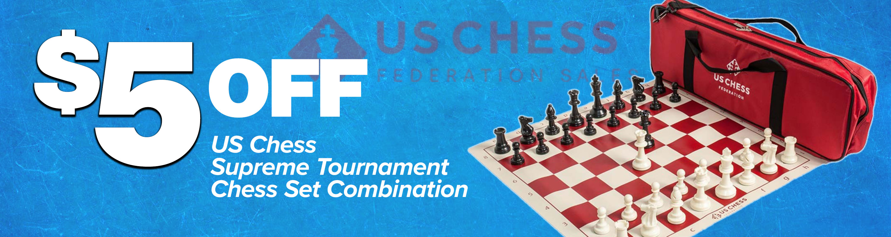 Save $5 on Supreme Tournament Chess Combos