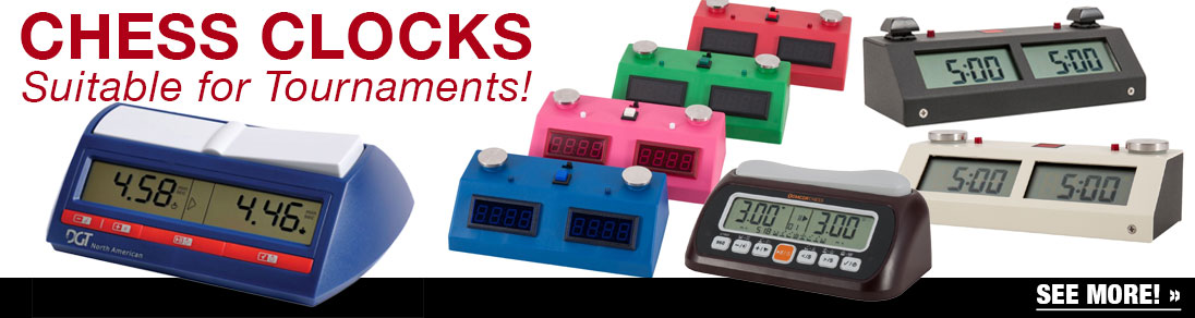 Find the perfect clock suitable for tournaments at USCF Sales!