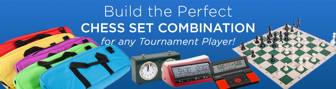 Build the perfect chess set combination for any tournament player at USCF Sales!