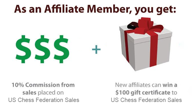 USCF Sales  affiliate membership. Enroll in the Affiliate Program now!