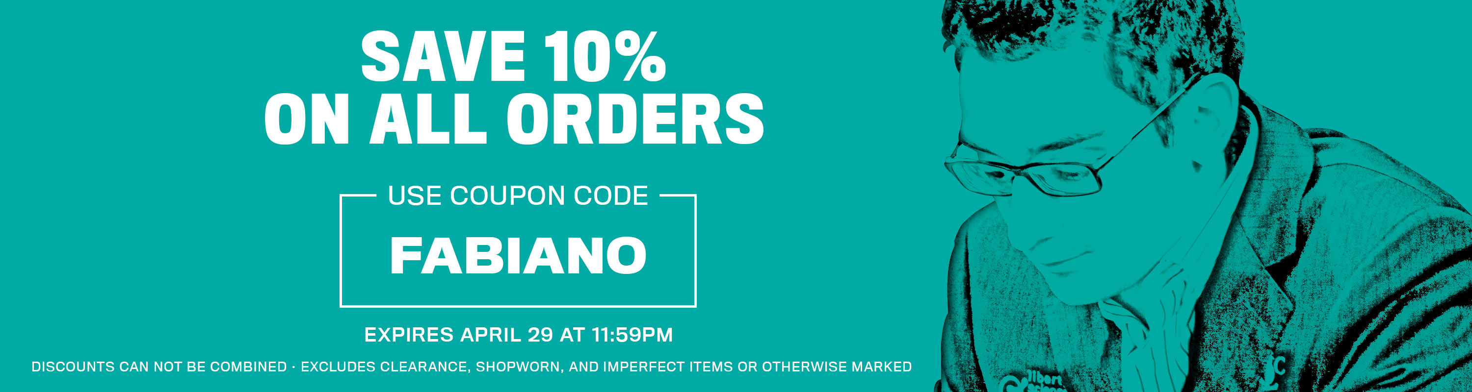 Save up to 10% Off of Your Next Order with the coupon code: FABIANO