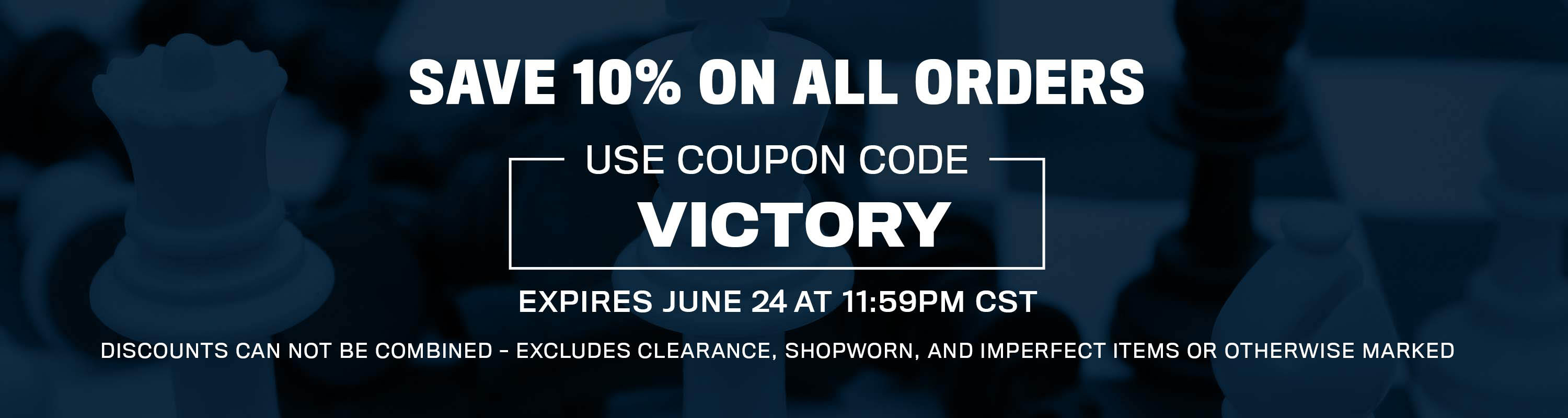 Save 10% Off of Your Next Order with the following coupon code!