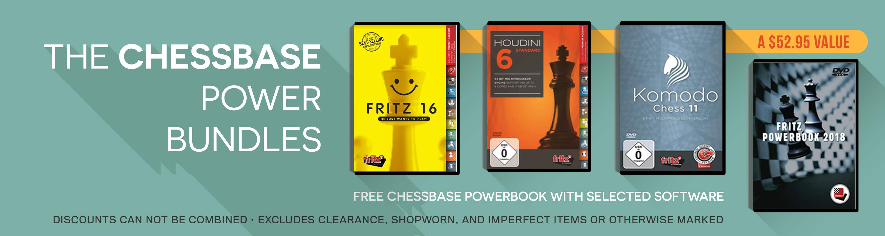 The ChessBase Power Bundles!