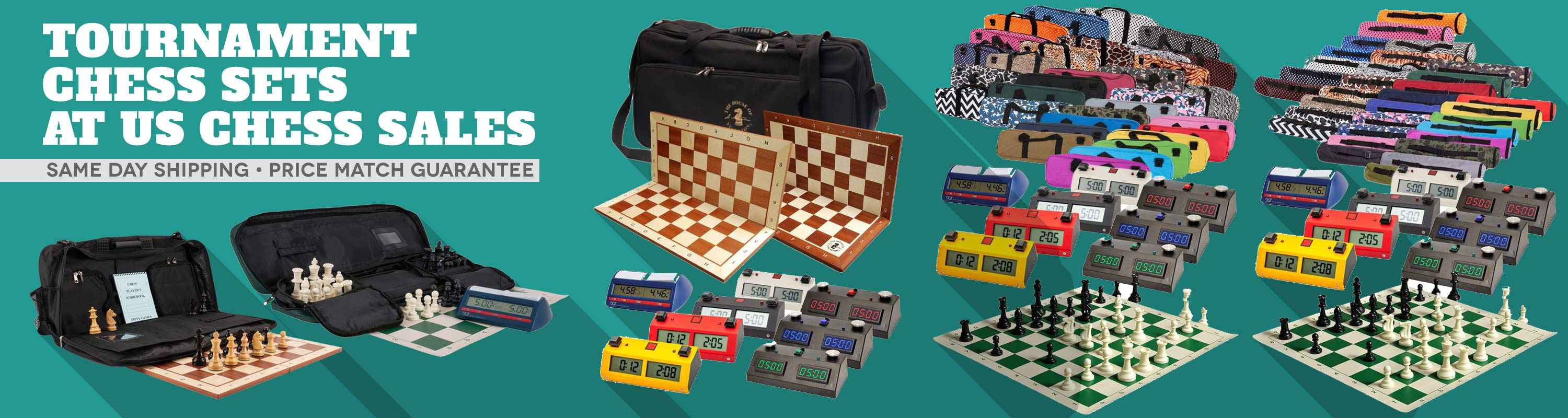 Tournament Chess Sets at US Chess Sales