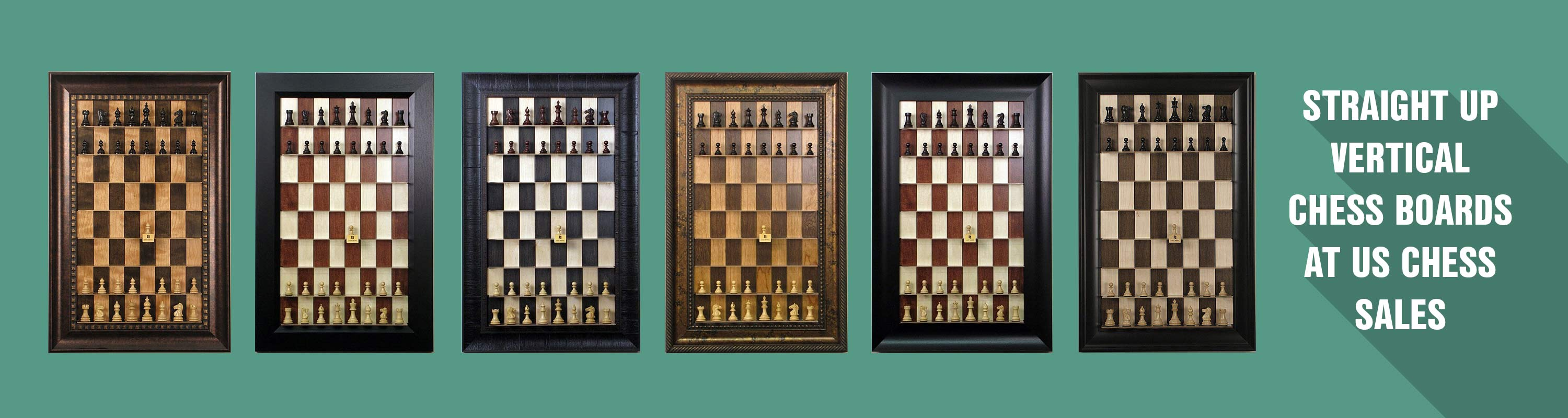 Straight Up Vertical Chess Boards At US Chess Sales