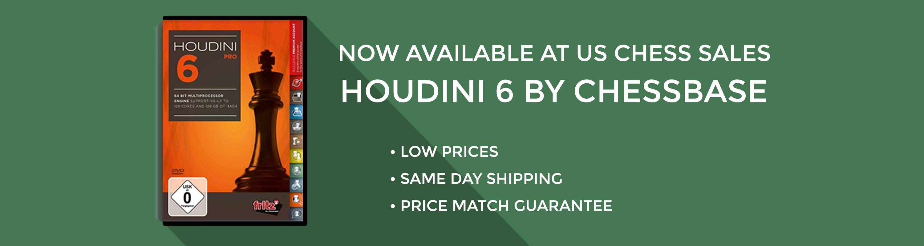 Houdini 6 Now Available at US Chess Sales!