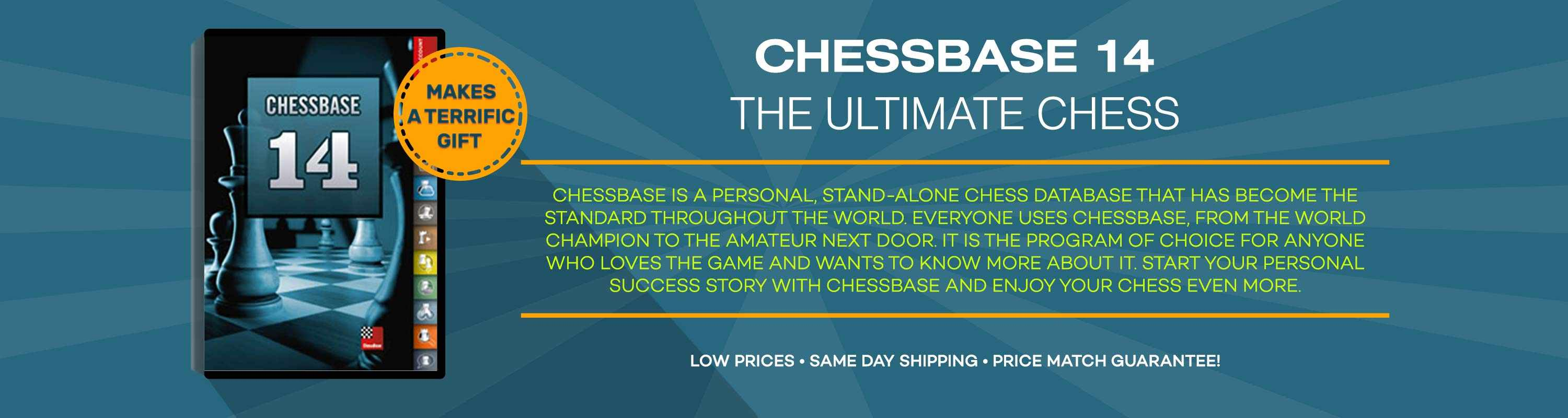 Give the gift of Chessbase 14 This Holiday Season!