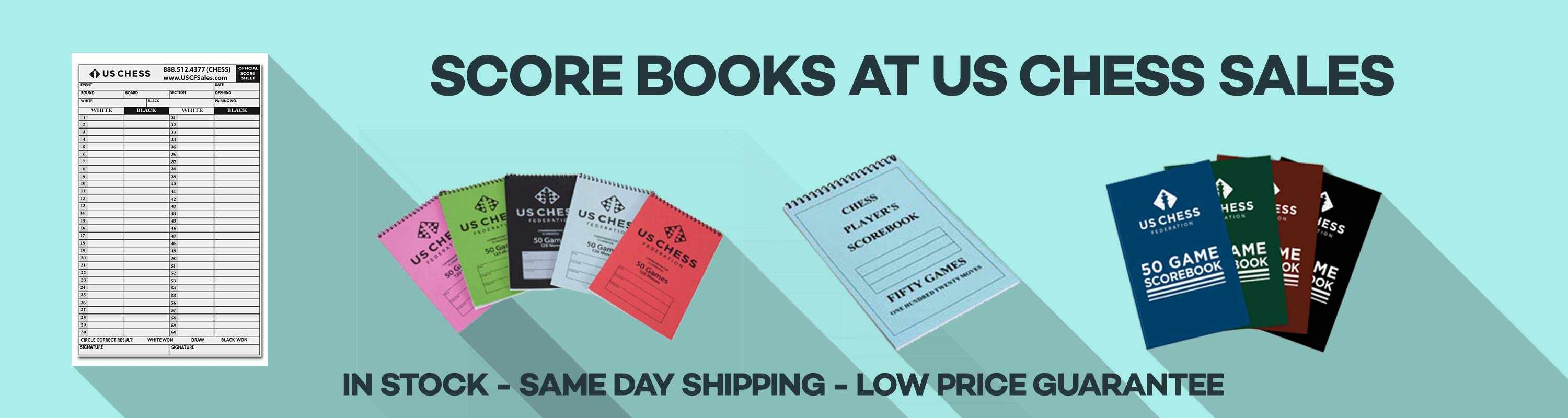 Scorebooks at us chess sales