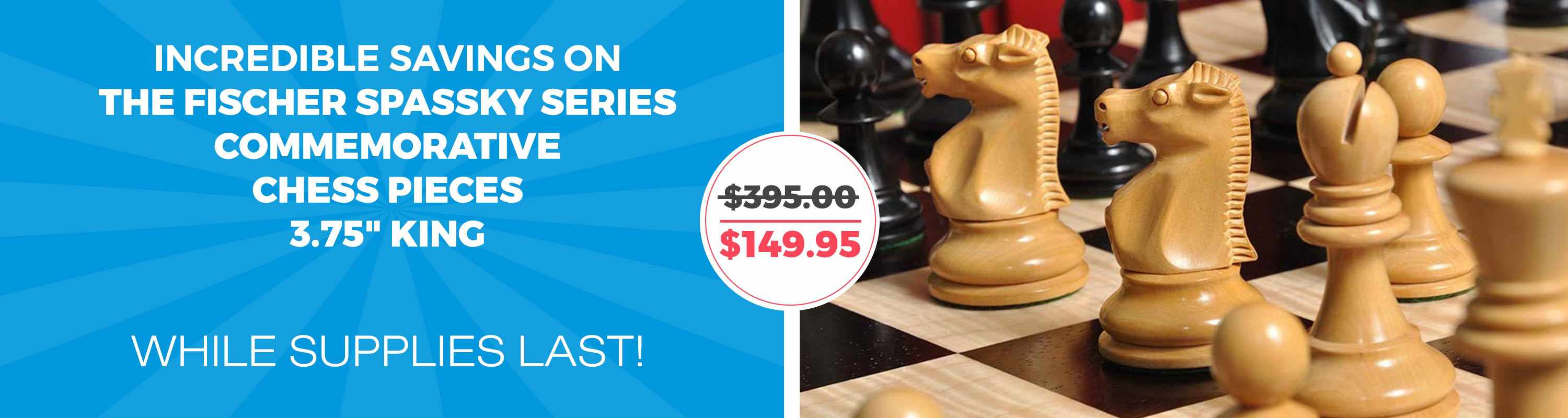 The Fischer Spasskey Commemorative Chess Pieces